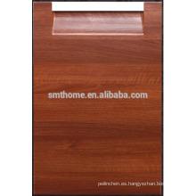 manija integrada de PVC puerta de armario de cocina