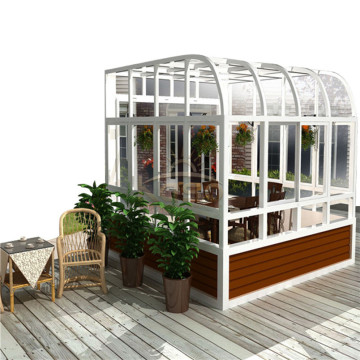 Plastic Sunroom Cheap Kit Glass House Aluminio