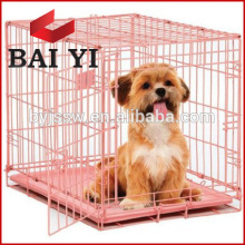 Good quality wire mesh protective foldable pet cage
