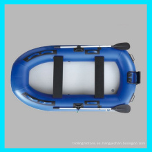 CE 2 personas inflable aerodeslizador, Bass Boat