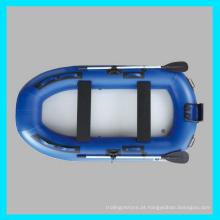 CE 2 pessoa Hovercraft inflável, barco de baixo