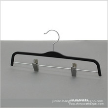 Wholesale Extension Skirt Plastic Hanger with Different Style Metal Clips
