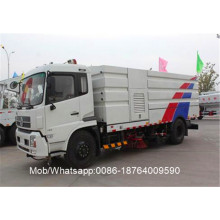 HOWO Road Truck dengan Sweeper and Washer
