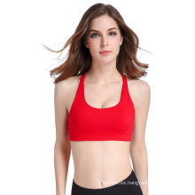 De alta calidad empuje hacia arriba transpirable seco seco deporte cómodo ropa interior sujetador de yoga