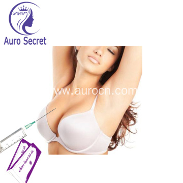 Hyaluronic acid dermal face injections  increase breast