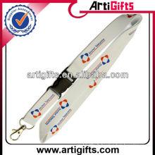 lanière d'accessoires de conception fraîche de couleur blanche d'usine