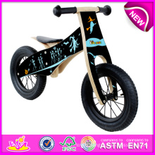 Fashion Wooden Balance Bike for Kids, Modern Children Wooden Bike Toy, Best Quality Wooden Bike Set Toy for Baby W16c096