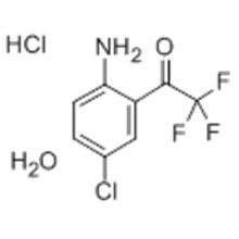Name: Ethanone,1-(2-amino-5-chlorophenyl)-2,2,2-trifluoro-, hydrochloride (1:1) CAS 173676-59-0