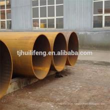LSAW tubo de aço S355 material de alto rendimento