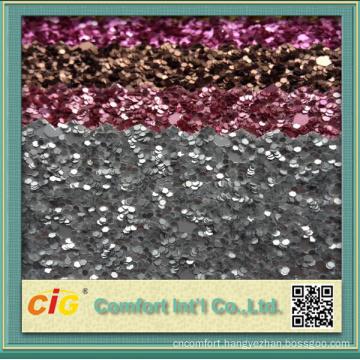 Decoration Use Glitter Leatherette