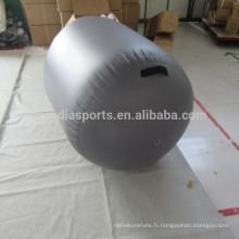 Rouleau gonflable d'air d'exercice de rouleau d'air de gymnastique de vente chaude
