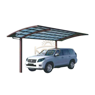 Abri de parking en polycarbonate