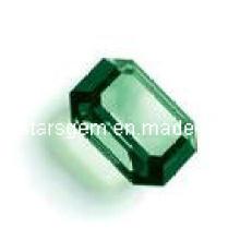 Gemme synthétique émeraude Zircon cubique