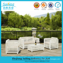 Summer Star Product Plastic Rattan Space Saving Royal Furniture Best Sofa Set