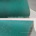 Glitter PU / PVC cuero para zapatos / bolsa superior