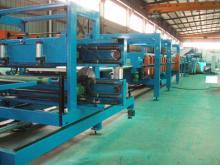 EPS PU Rockwool Sandwich Panel Roll Forming Production Line