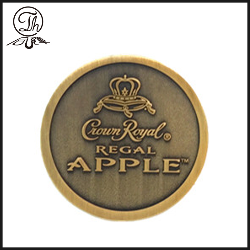 Premio di Crown royal Apple collezione coin in metallo