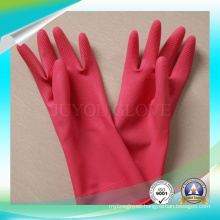 Latex Anti Acid Working Gloves for Washing Stuff with Good quality