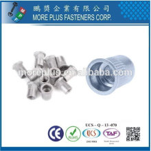Taiwan Stainless steel 18-8 Chrome plated steel Nickel plated steel Copper Brass Aluminum Rivet and Screw