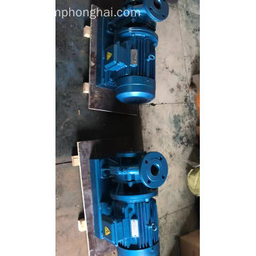 ISW electric straight plug pipeline waterpump