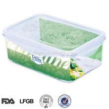 recipiente de alimento afastado plástico 1150ml