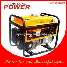 Marca Tenglong poderosa gerador gasolina, gerador de combustível duplo LPG