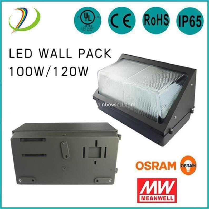 Outdoor light 120W LED Wall Pack