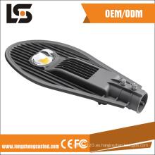 Anodice aluminio a presión tipo de carcasa de la lámpara LED