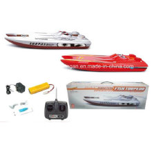 R / C modelo de barco de pescado torpedo juguetes