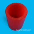 Red+Polyurethane+PU+Round+Bar+for+Sleeves