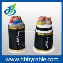 Hv 26 / 35kv Copper Conductor XLPE aisló el cable de transmisión acorazado de alambre de acero