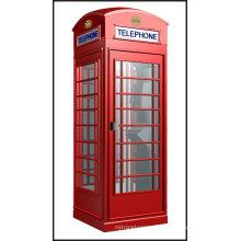 Cabine telefônica antiga