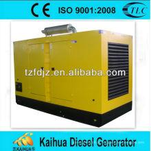 CE aprovado 250kw scania tipo impermeável geradores a diesel
