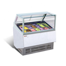 vitrine d'affichage de réfrigérateur de crème glacée