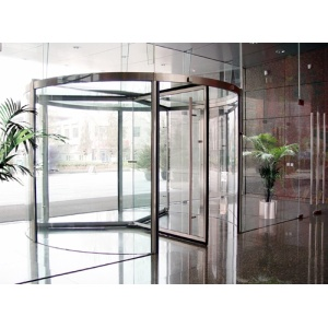 Bespoke Full Vision Revolving Doors for Commercial Complex