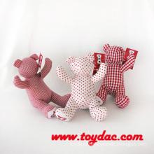 Фаршированная ткань Хлопковый медведь