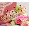 Accesorios de cabello rojo princesa tiaras y coronas de los niños baratos
