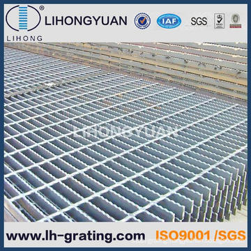 Black Serrated Steel Grating for Floor ISO9001 Company