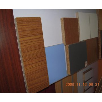 Melamine laminated chipboard sheets for furniture