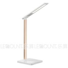 Светодиодная настольная лампа с функцией беспроводной зарядки (LTB102W)