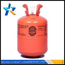 HFC gases R407C refrigerante R407c 99.9% r407 gas para refrigeración Y