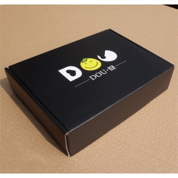 Luxury black T-shirt paper box