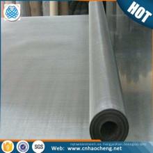 Malla de malla metálica de malla de aleación de níquel tejido de malla 20