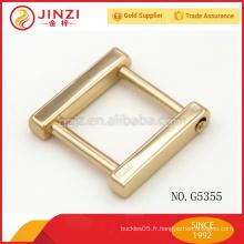 Sacs à main d'assurance de commerce boucle en alliage de zinc Oreillette en anneau en D