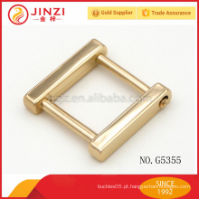 Garantia de comércio de bolsas de zinco liga fivela D-ring ilhó