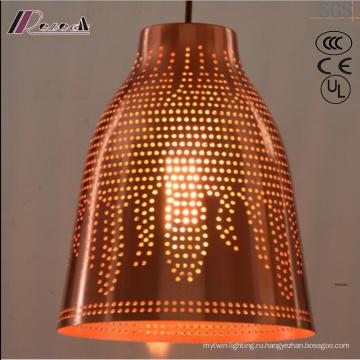 И бронзовый круглый полый Кулон свет столовая