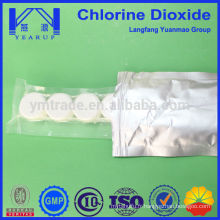 Comprimés de chlore effervescents en matières premières chimiques Fabrication en Chine
