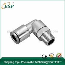 ЭСП двухсторонний МПЛ воздуха поворотный штуцер мужской локоть высокого давления
