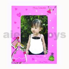 Marco de madera de la foto para la niña (80284)