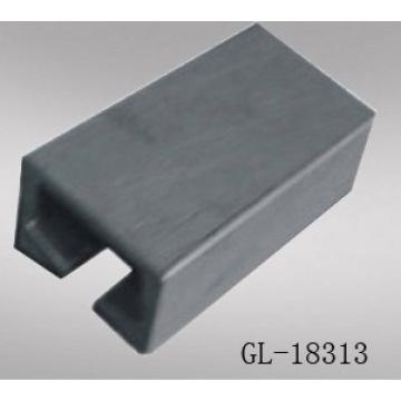 냉장 된 밴에 대 한 안전한 모서리 처리 알루미늄 합금 Slideway